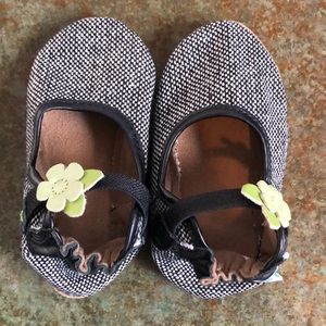 NWOT Leather robeez toddler moccasins, 12-18 month